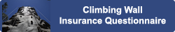 Climbing Wall Insurance Questionnaire